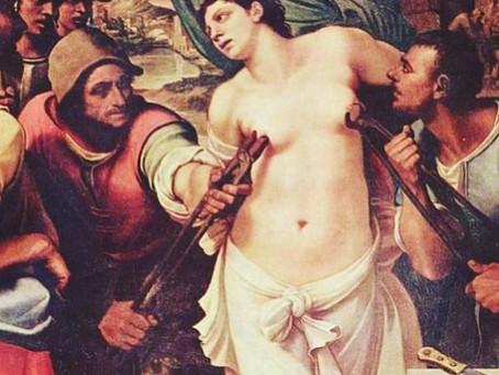 A padroeira das doenças mamárias: Santa Ágata!