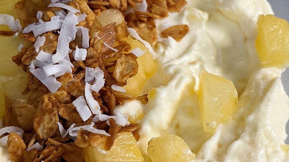 Yogurt pineapple