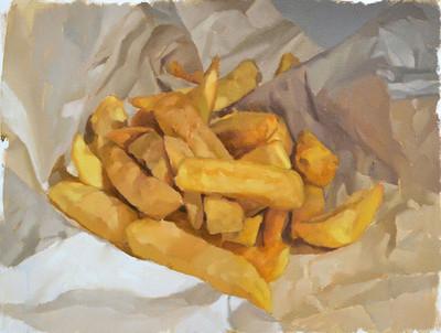 huddle of chips