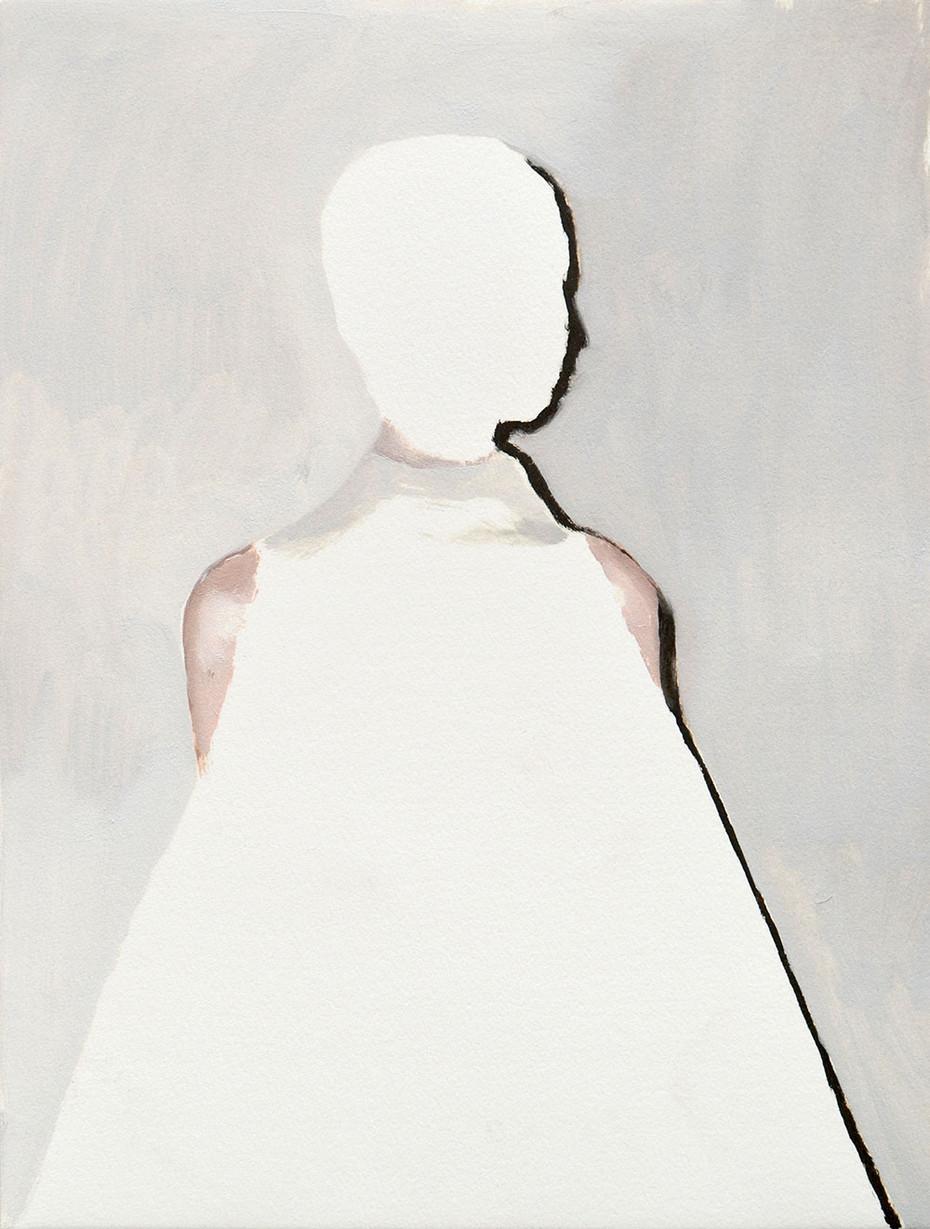 untitled AP12 (white head & dress)