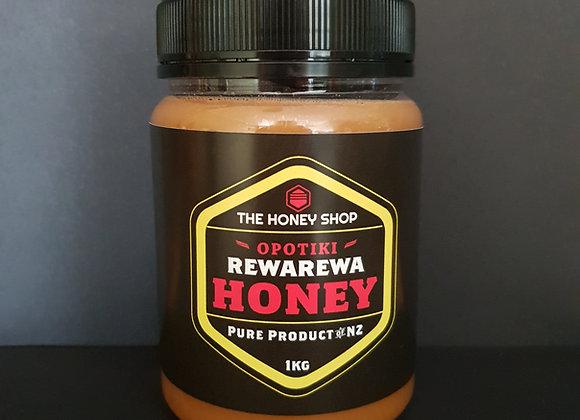 1kg Rewarewa Honey