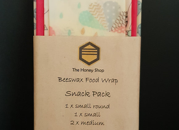 Snack Pack - Beeswax Wraps