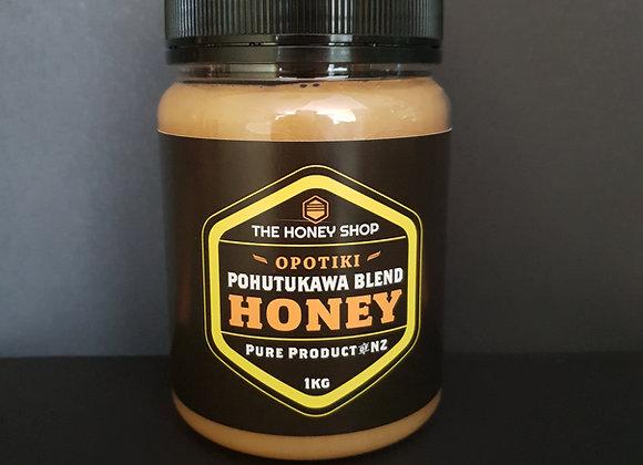 1kg Pohutukawa Honey