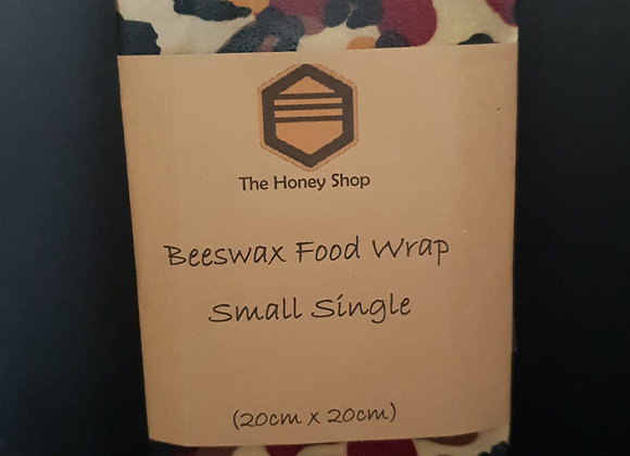 Small Beewax Wrap 20cm x 20cm