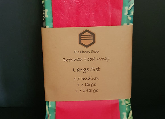 Large Beeswax Wrap Set