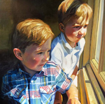 Two Boys and a Train