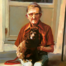 Melford and Cindy, 16x20, Oils on Canvas