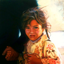 Passing Glance: Portrait of an Iraqi Girl During Wartime