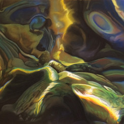 Beneath the Surface II, Pastel, 24x30
