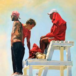 Boys of Summer, 24x30, Oils on Canvas