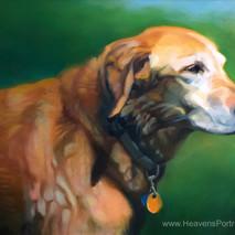 Heavens Portraits: Hannah's Heaven I, 12x9, Oils on Canvas