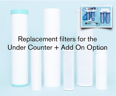 REPLACEMENT FILTERS: UC + ADD-ON