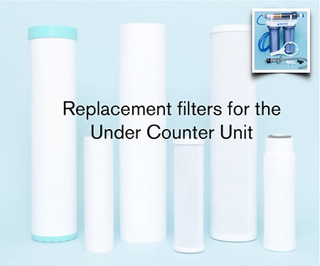 REPLACEMENT FILTERS: UC