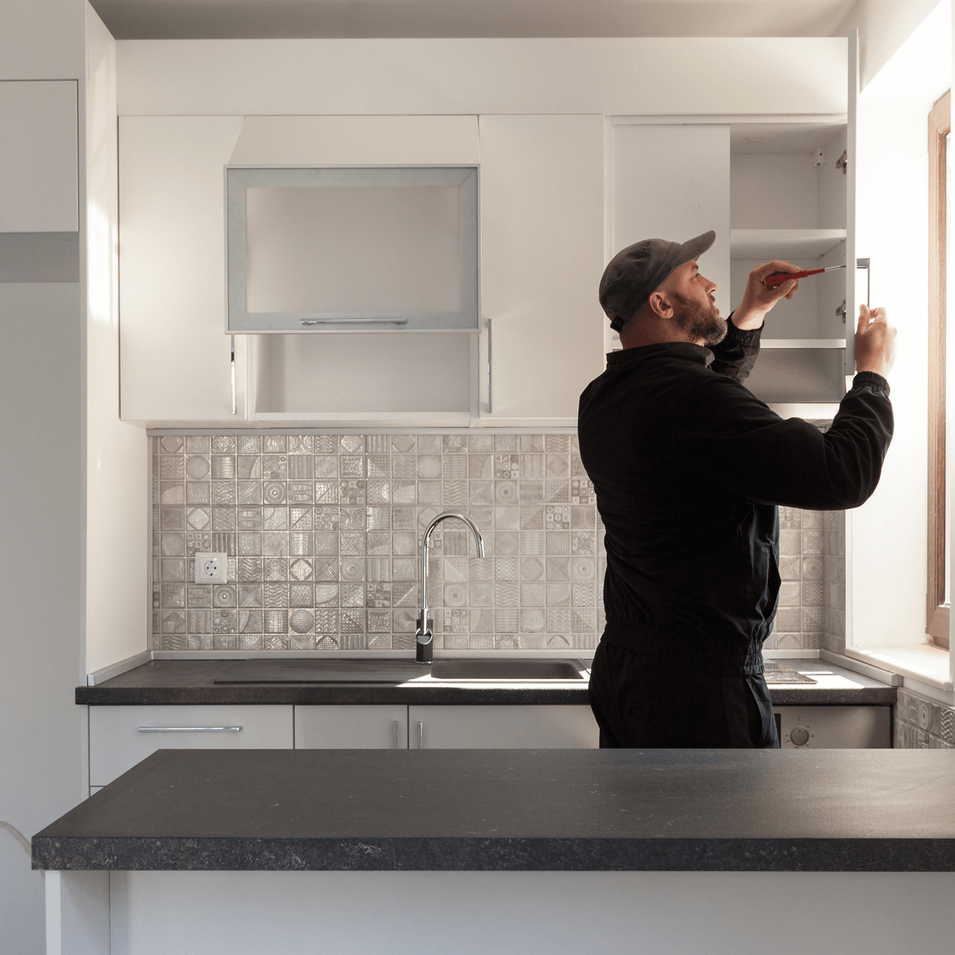 kitchen renovation by handyman