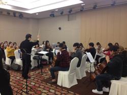 매일 오케스트라 연습
