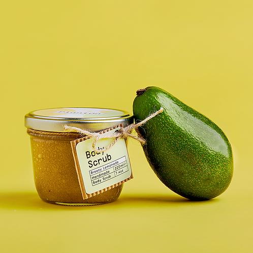 Скраб за тяло с лимон, лайм и авокадо