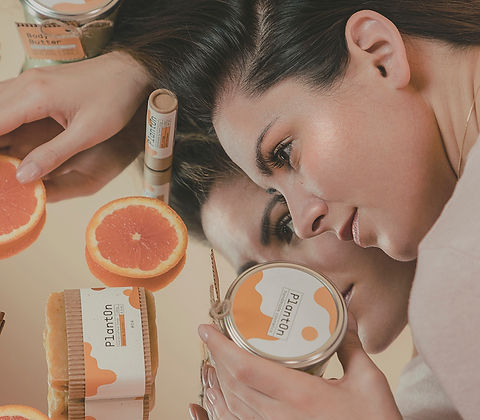 planton orange series natural cosmetics