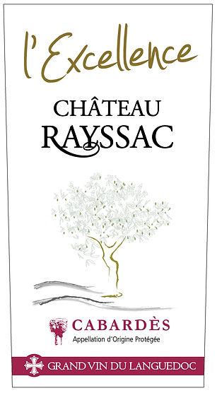 bouteille de vin de Cabardès Château Rayssac 2006