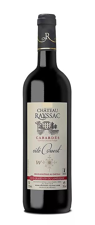 bouteille de vin de Cabardès 2010 cuvée Côté Ouest