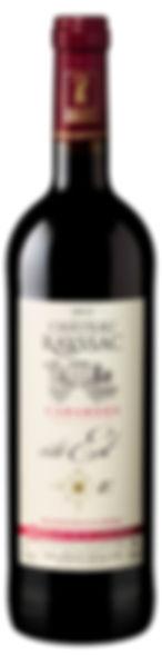 bouteille de vin de Cabardès 2012