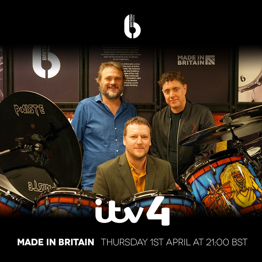 "BDC featured on ITV4's new series ""Made In Britain"""