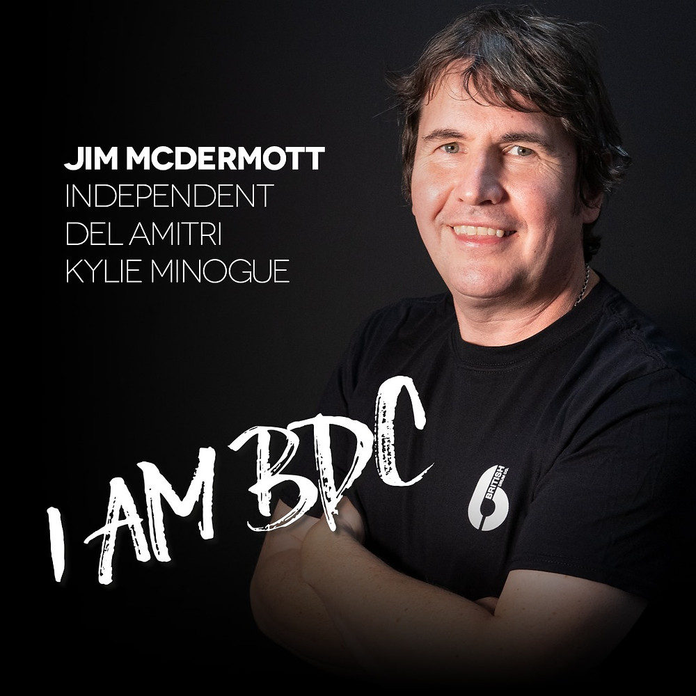 Jim McDermott Joins British Drum Co BDC Del Amitri Kylie Miniogue Simple Minds