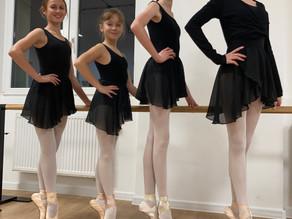 Jak ubrać się na lekcję baletu?