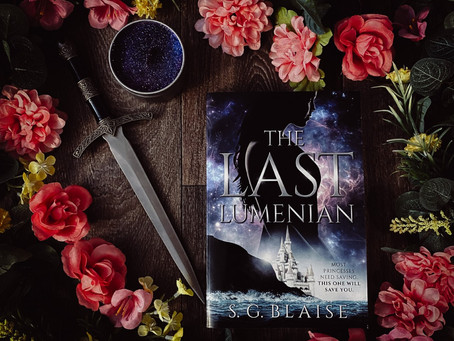 Book Tour: The Last Lumenian - S.G. Blaise