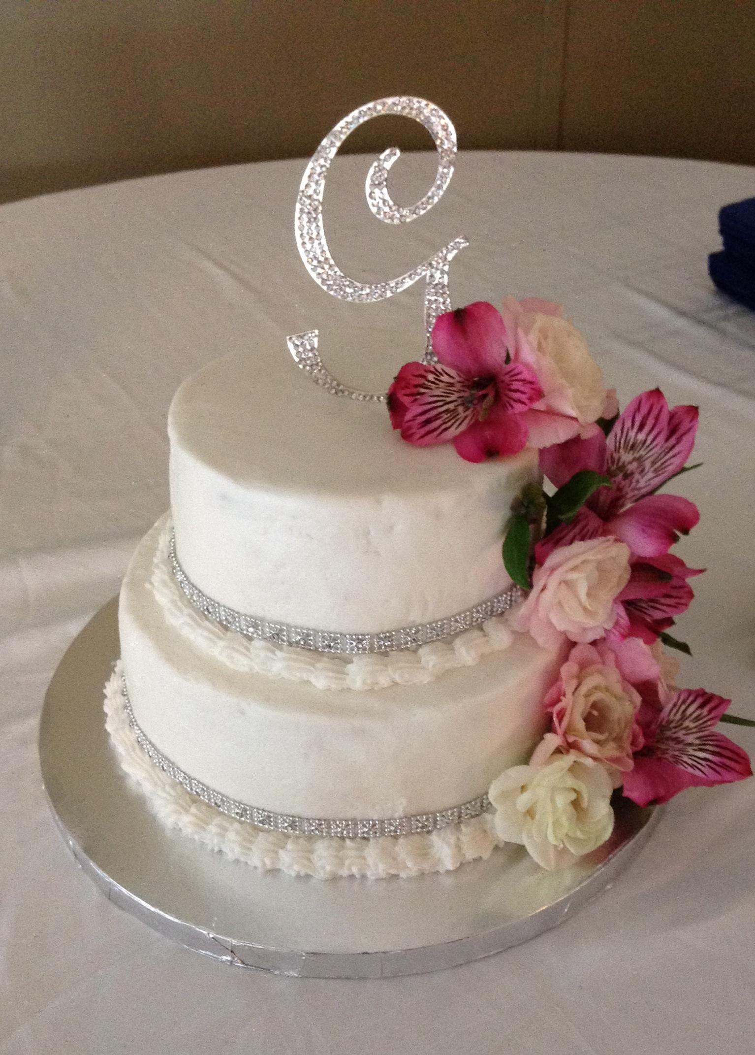 Bling Design Wedding Cake