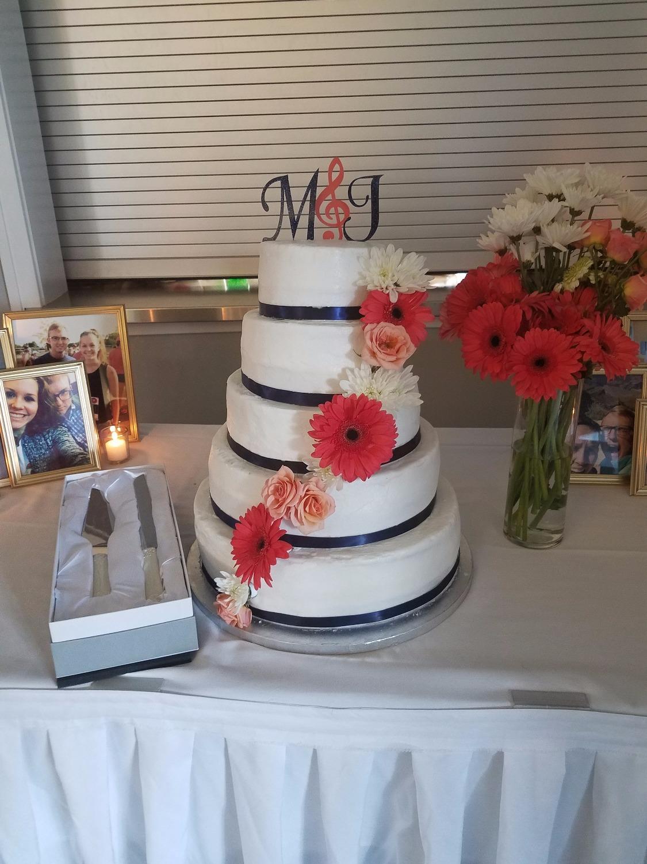 Coral & Navy Wedding