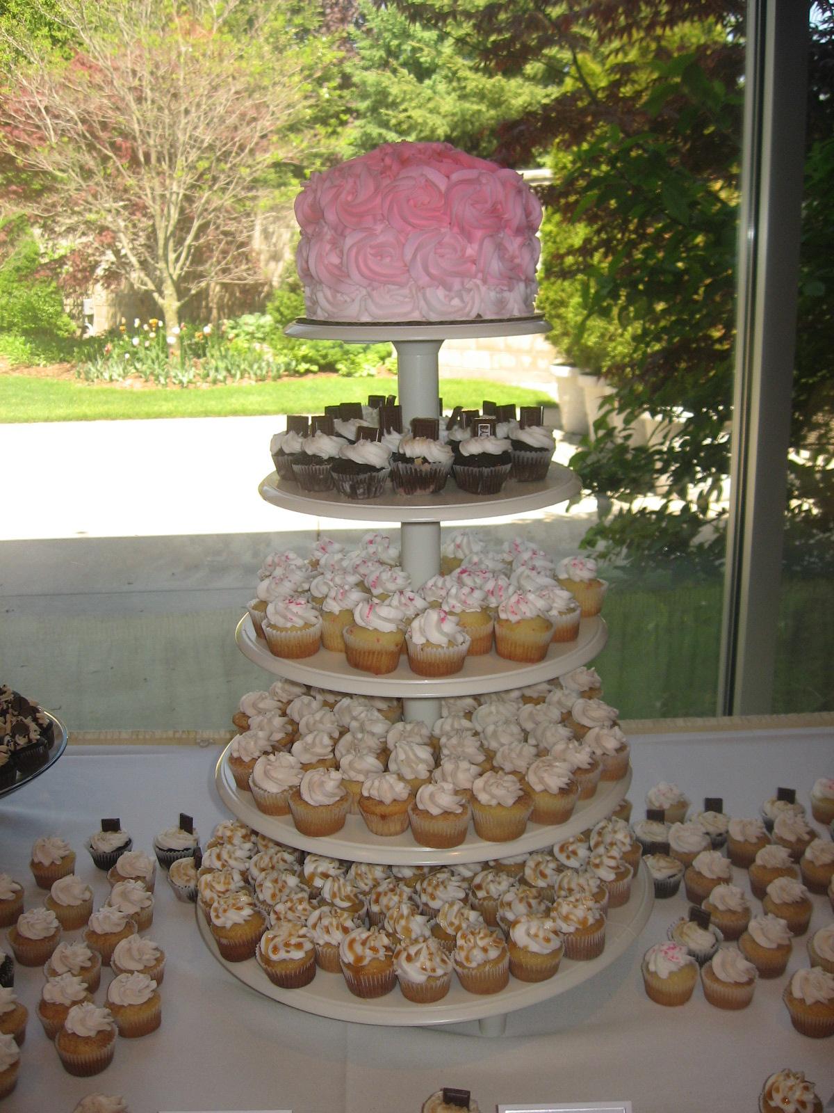 Mini Cupcake Display