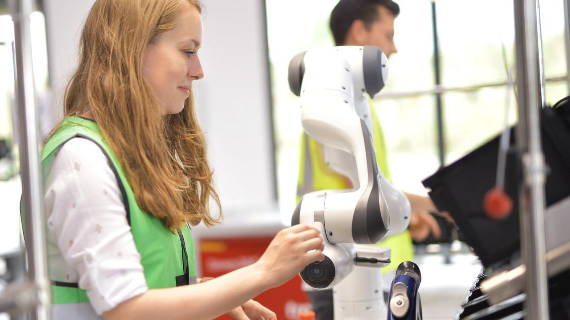 Kollaborativer Roboter - Franka Emika