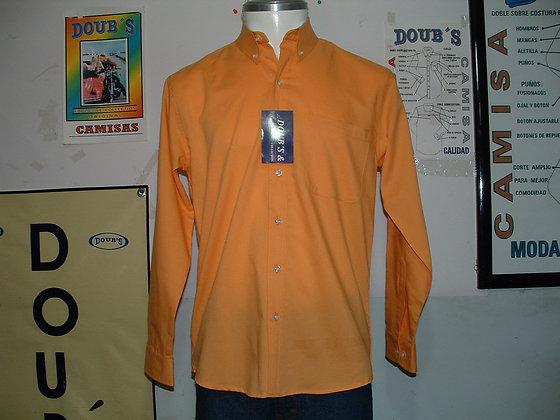 Camisas Color Orange Peel