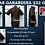 Camisas gabardina 232gr/m² postal