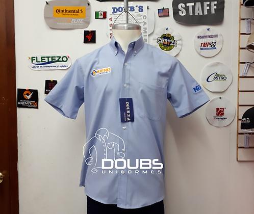 Camisas oxford k. azul celeste