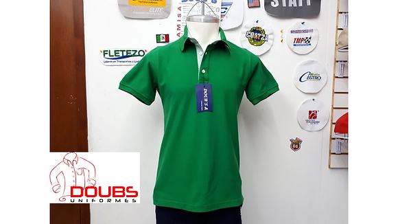 Playeras Polo Color Verde