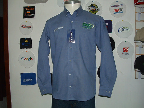 Camisas Color King Blue