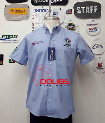 Camisa new premium azul cielo
