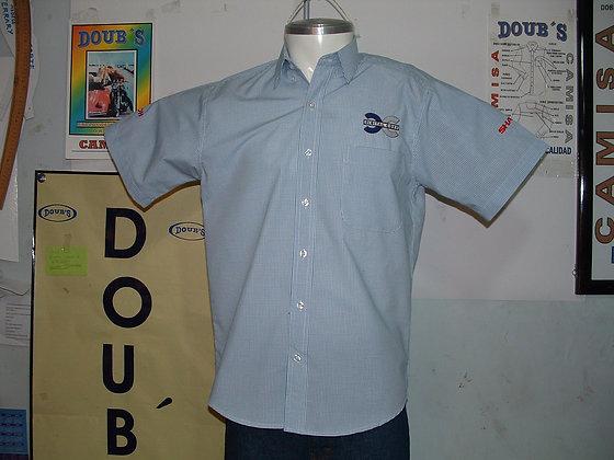 Camisas Color Cuadros Marino 635602
