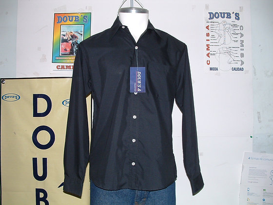 Camisas Color Negro
