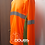Playeras naranja neon mod. 19 frontal izquierdo