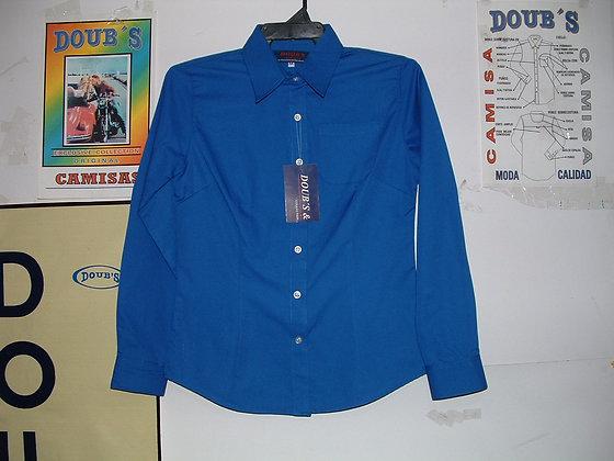 Blusas Color Azul Rey