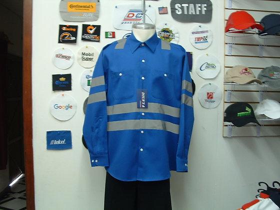 Camisas Color Azul Rey Mod. 9