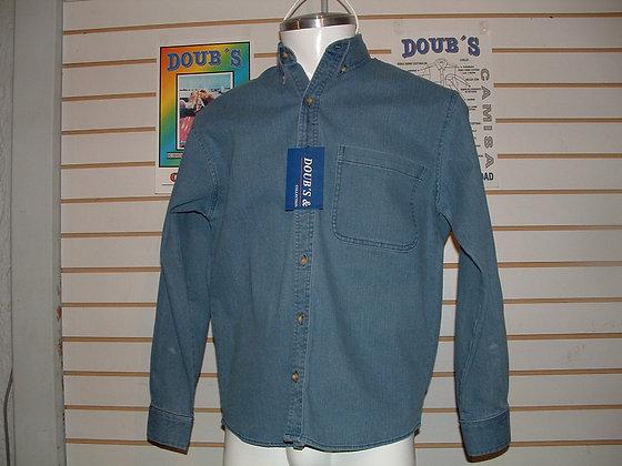 Camisas Mezclilla 10.5 onz.