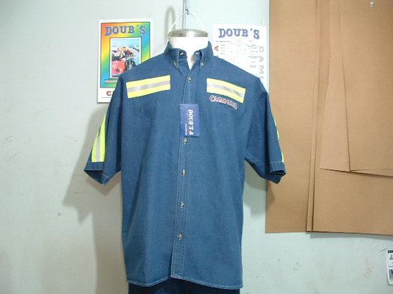 Camisas Mezclilla 7.5 onz.