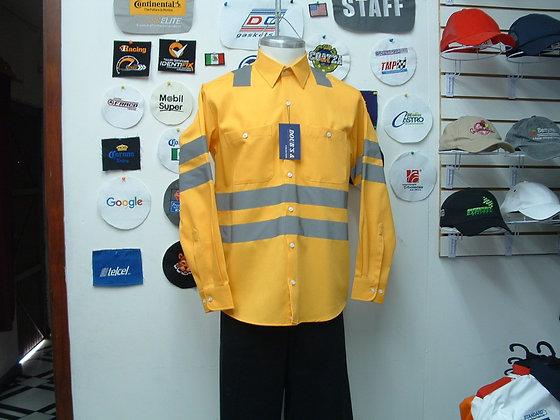 Camisa Color Amarillo Mod. 8