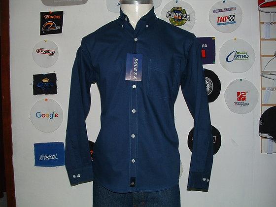 Camisas Color Marino Rey