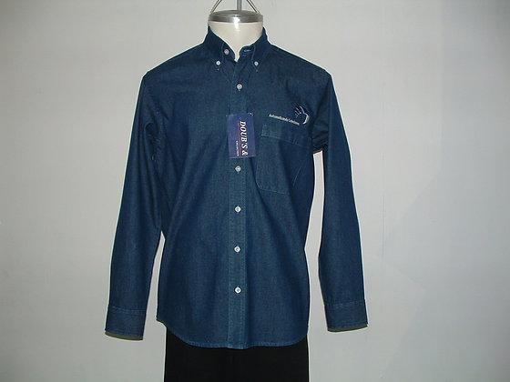 Camisas Color Stone Mezclilla 7.5 Onz.