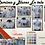 Camisas oxford k. azul celeste postal