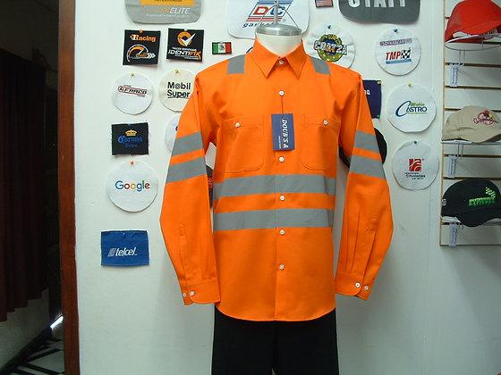 Camisas Color Naranja Mod. 10
